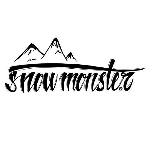 Тениска RockaCoca Snow Monster, бяла, размер L - 2