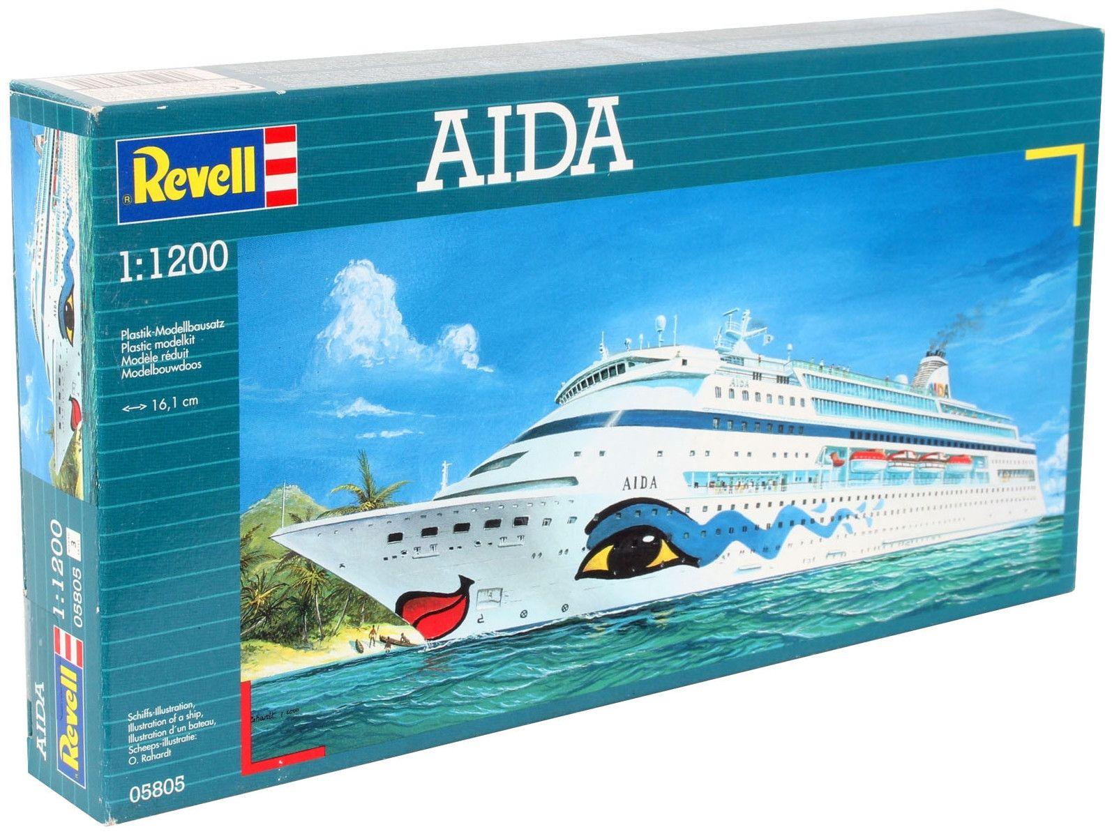 Сглобяем модел на пътнически кораб Revell - AIDA (05805) - 4