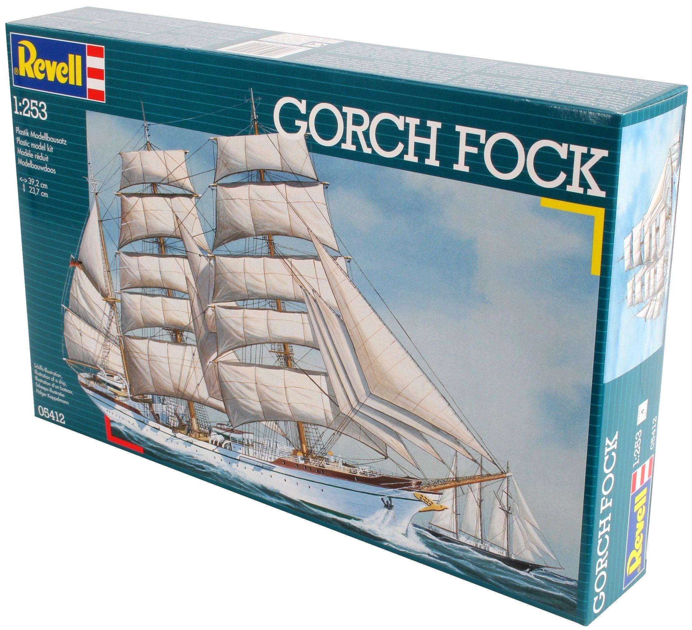 Сглобяем модел на кораб Revell - Gorch Fock (05412) - 3