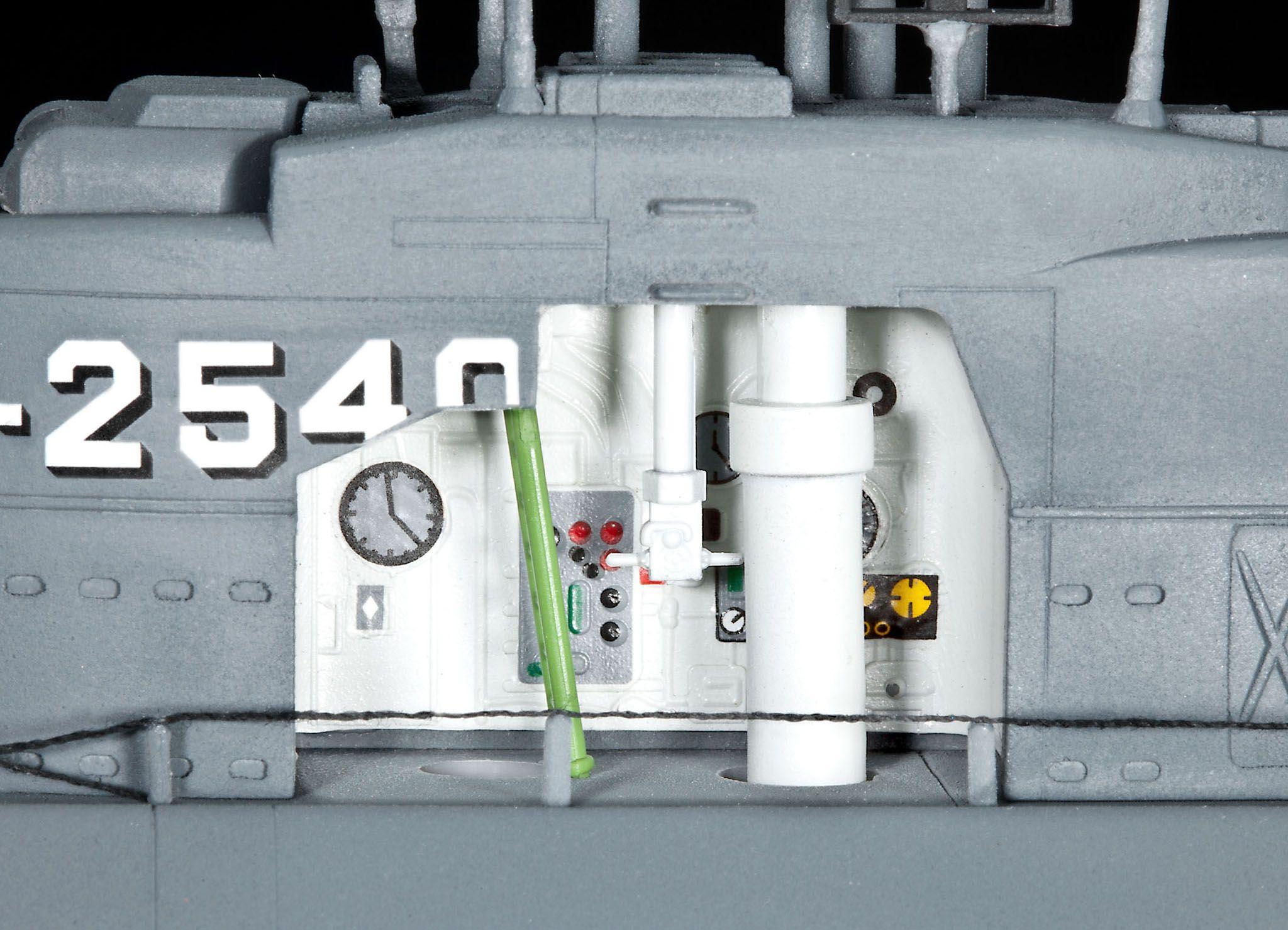 Сглобяем модел на подводница Revell - U-Boat Typе XXI (05078) - 6