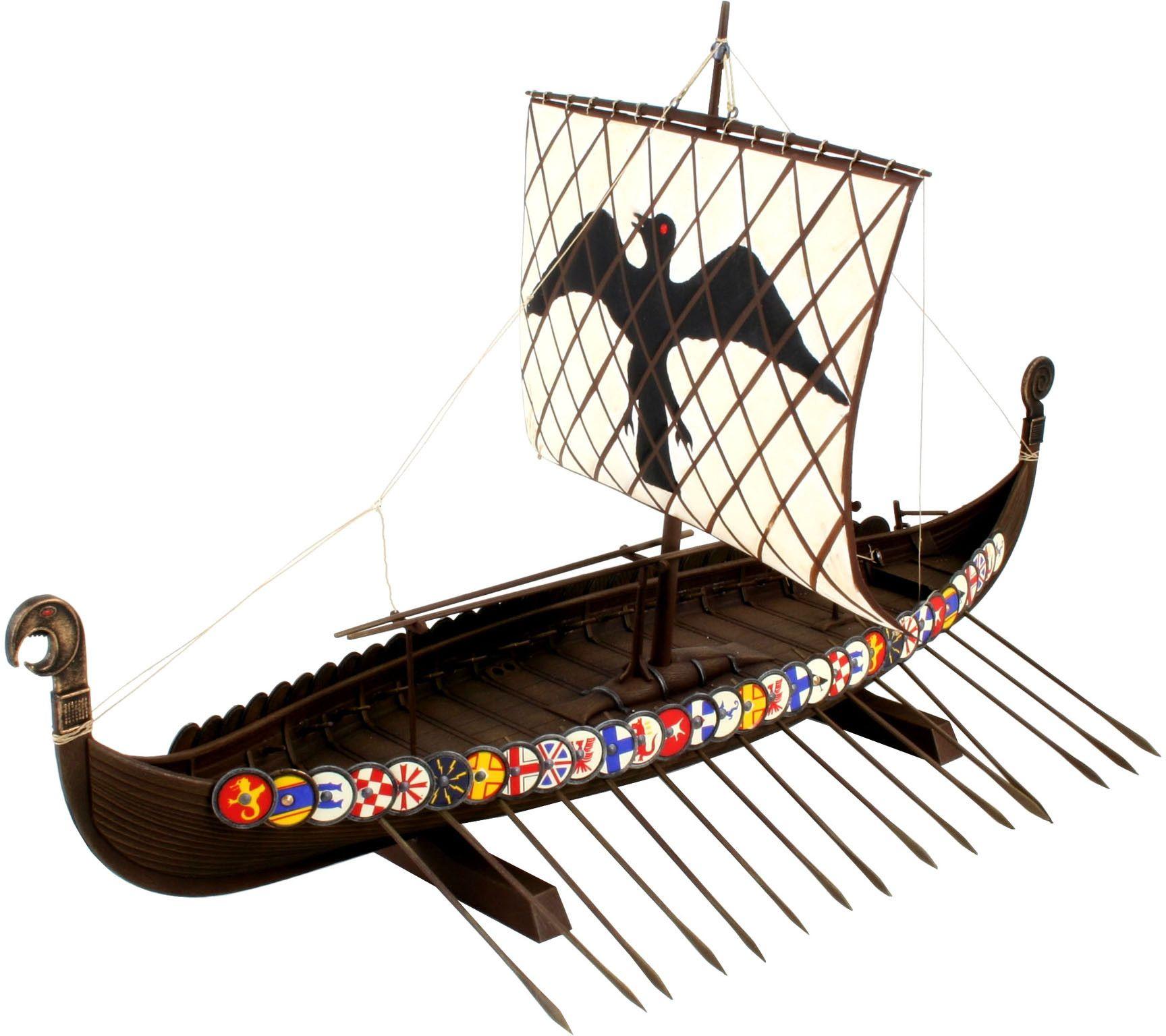 Сглобяем модел на кораб Revell - Viking Ship (05403) - 1