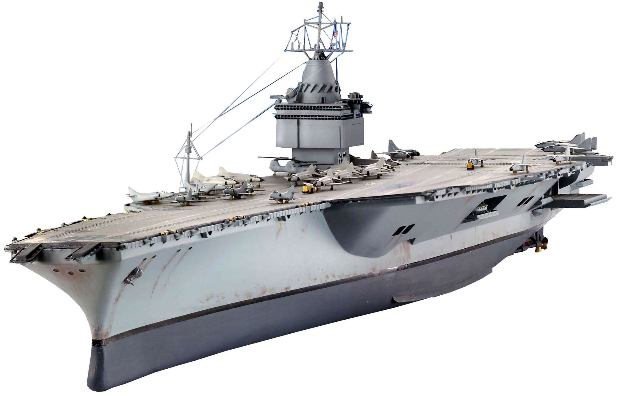 Сглобяем модел на военен кораб-самолетоносач Revell - U.S.S. Enterprise (05046) - 1