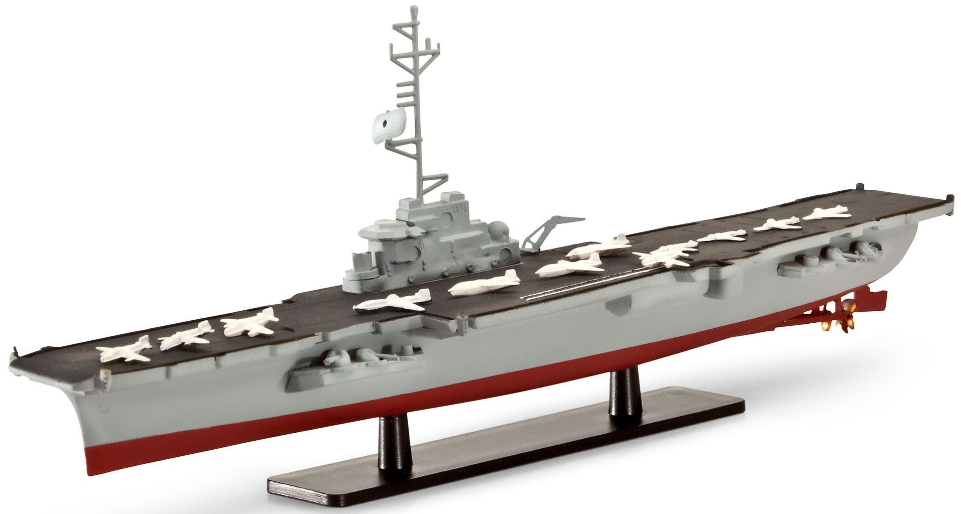 Сглобяем модел на кораб-самолетоносач Revell - French Aircraft Carrier CLEMENCEAU / FOCH (05898) - 1