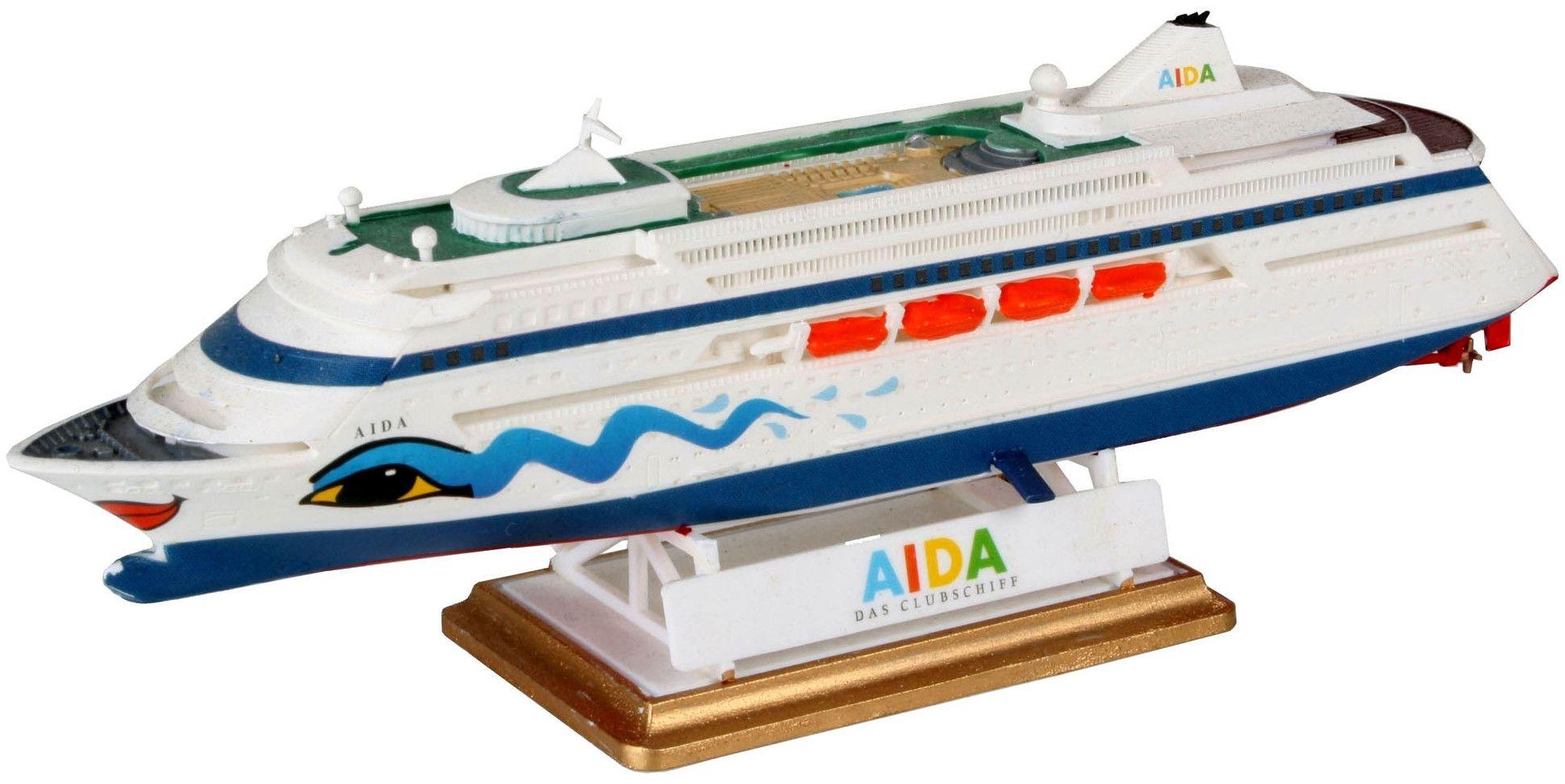 Сглобяем модел на пътнически кораб Revell - AIDA (05805) - 1