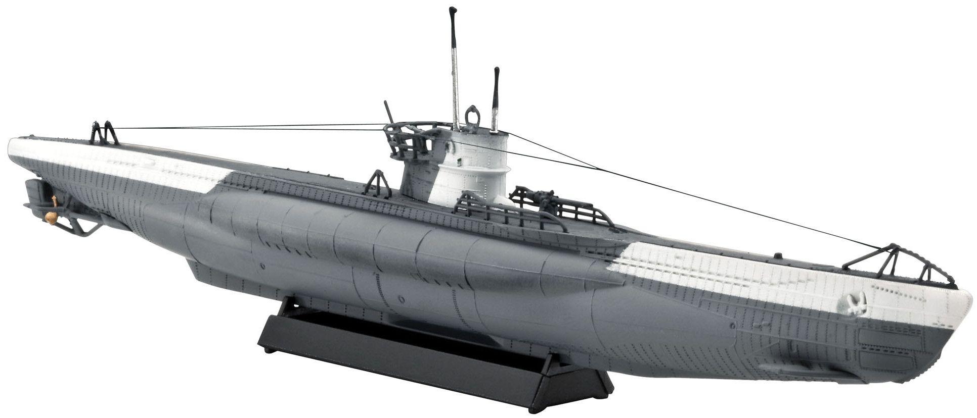 Сглобяем модел на подводница Revell - German Submarine Type VII C (05093) - 1