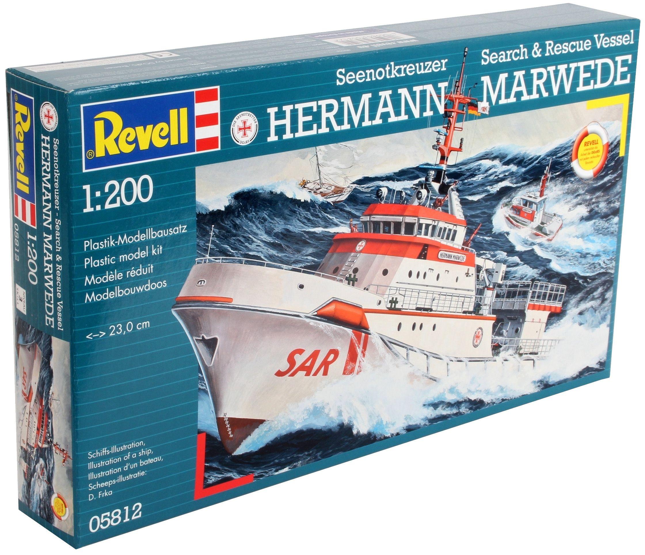 Сглобяем модел на кораб Revell - DGzRS Hermann Marwede (05812) - 3