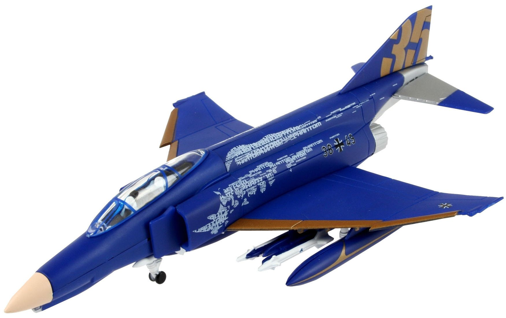 Сглобяем модел на изтребител Revell Easykit - F-4F Phantom (06643) - 1