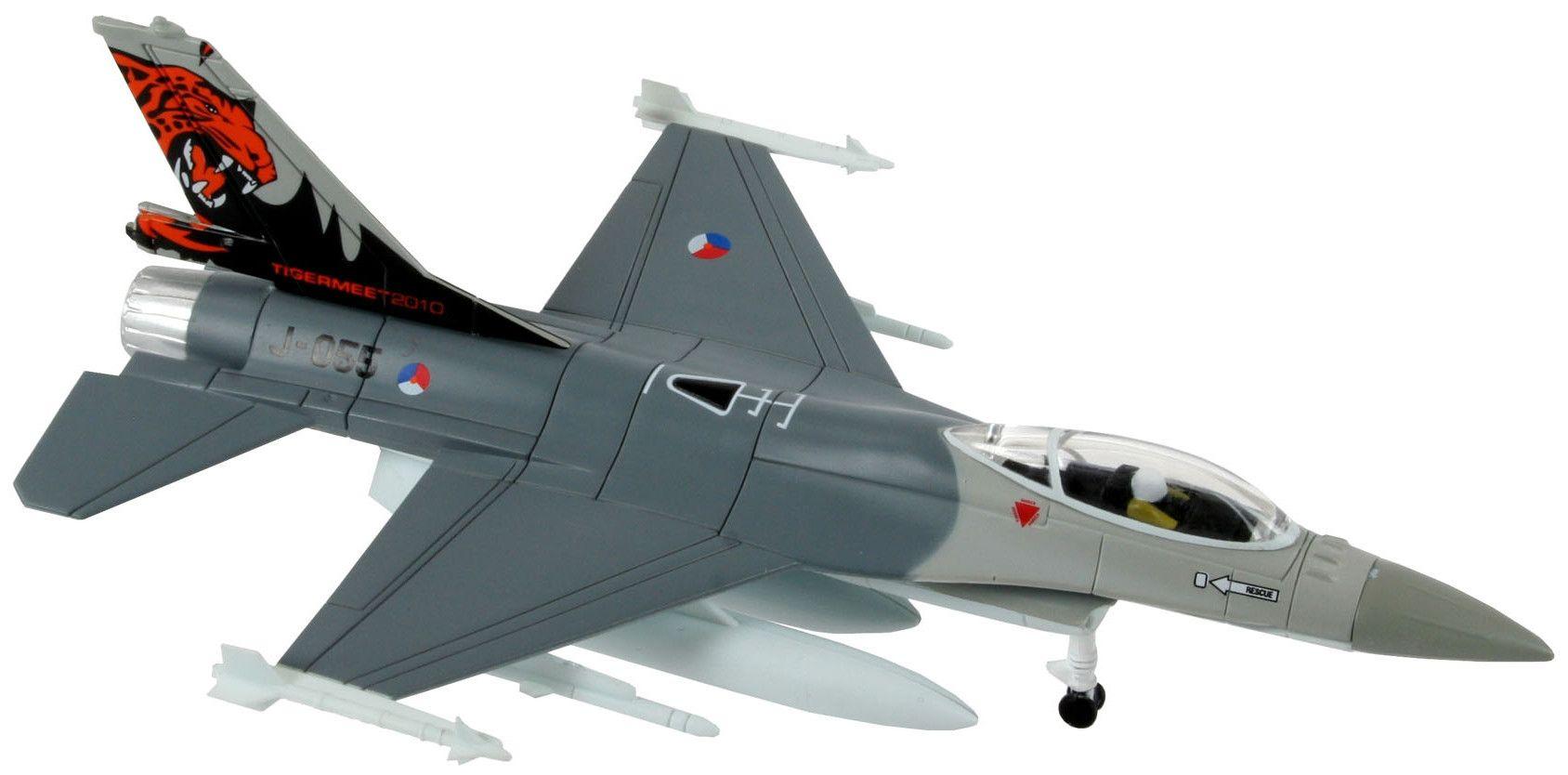 Сглобяем модел на изтребител Revell Easykit - F-16 Fighting Falcon (06644) - 2