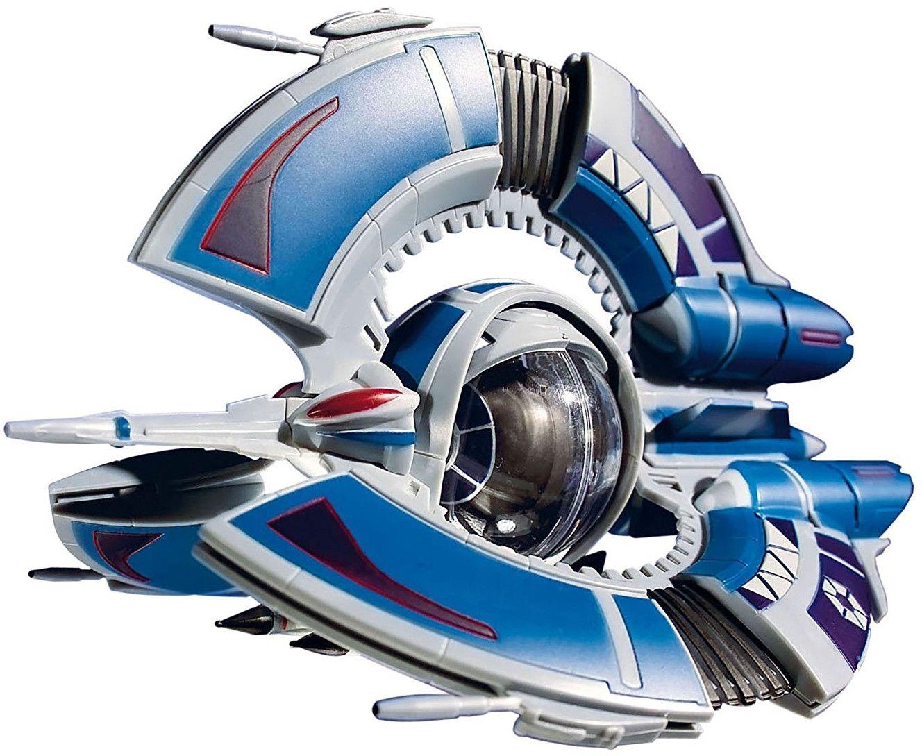Сглобяем модел на космически кораб Revell Easykit STAR WARS - Droid Tri-Fighter (06652) - 2