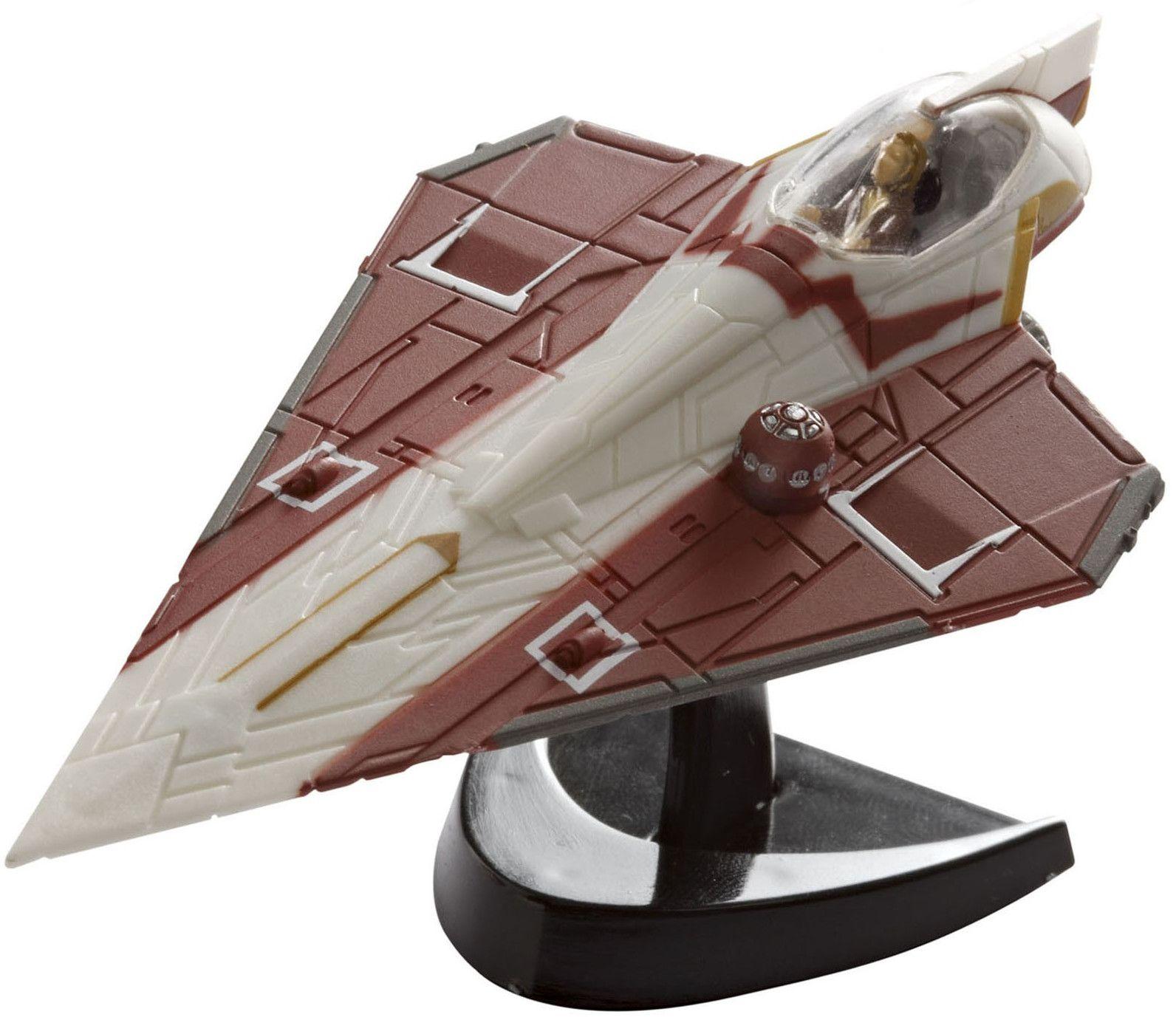 Сглобяем модел на космически кораб Revell Easykit Pocket STAR WARS - Jedi Starfighter (06731) - 1