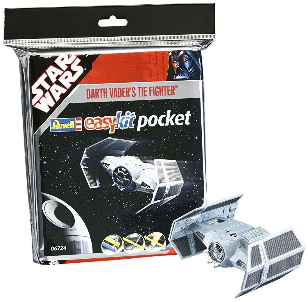 Сглобяем модел на космически кораб Revell Easykit Pocket STAR WARS - Darth Vader's TIE Fighter (06724) - 2