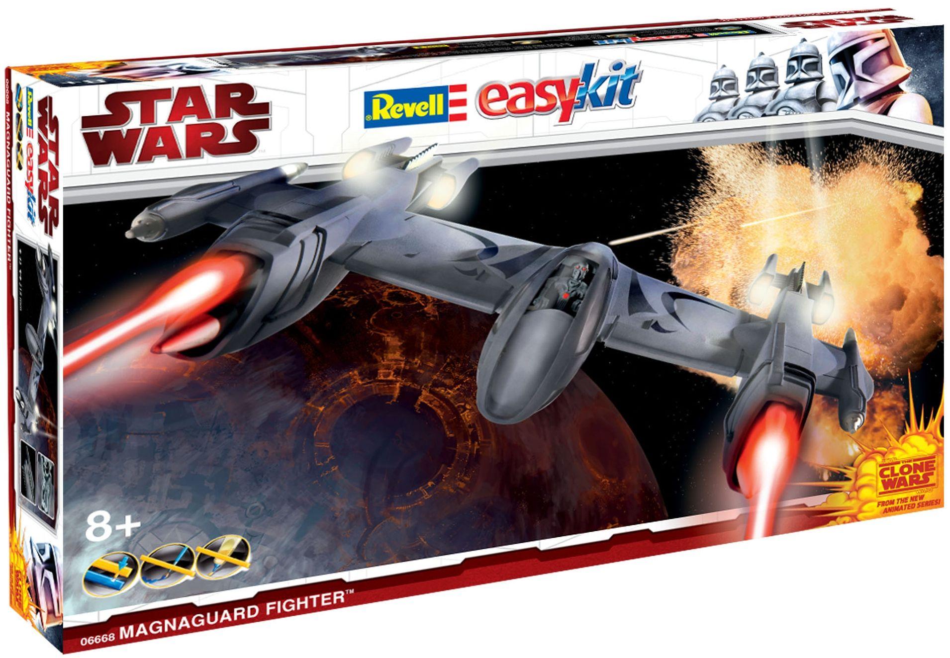 Сглобяем модел на космически кораб Revell Easykit STAR WARS - Magna Guard Fighter (Clone Wars) (06668) - 2