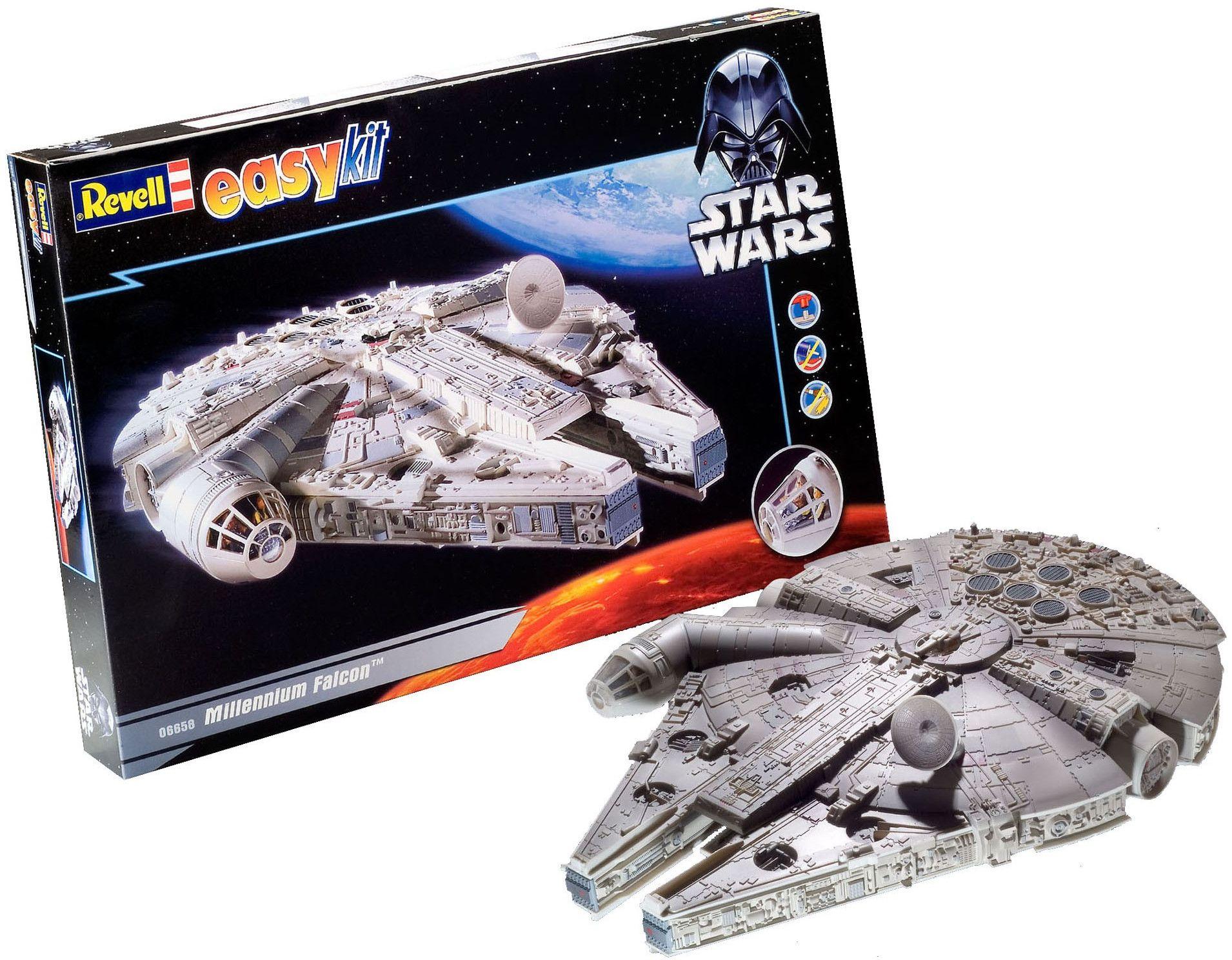 Сглобяем модел на космически кораб Revell Easykit STAR WARS - Millennium Falcon (06658) - 1