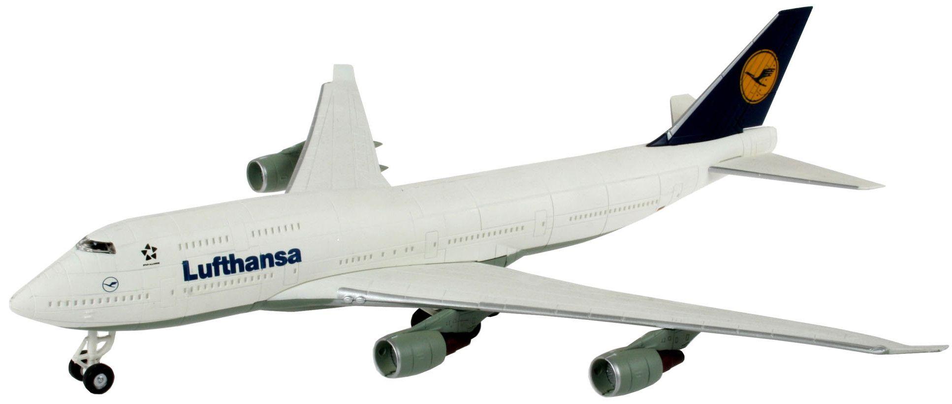 Сглобяем модел на самолет Revell Easykit - Boeing 747-400 Lufthansa (06641) - 1