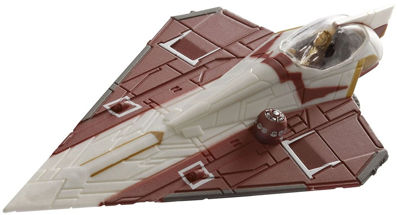 Сглобяем модел на космически кораб Revell Easykit Pocket STAR WARS - Jedi Starfighter (06731) - 2