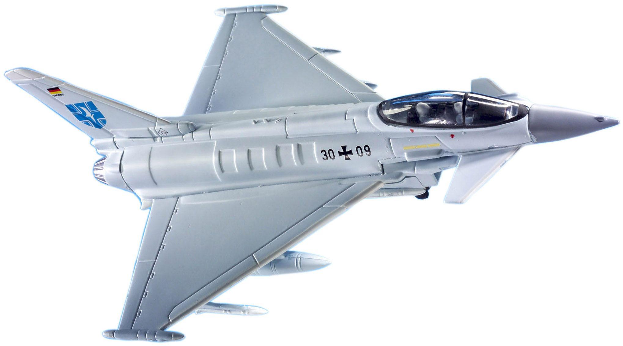 Сглобяем модел на изтребител Revell Easykit - Eurofighter (06625) - 1