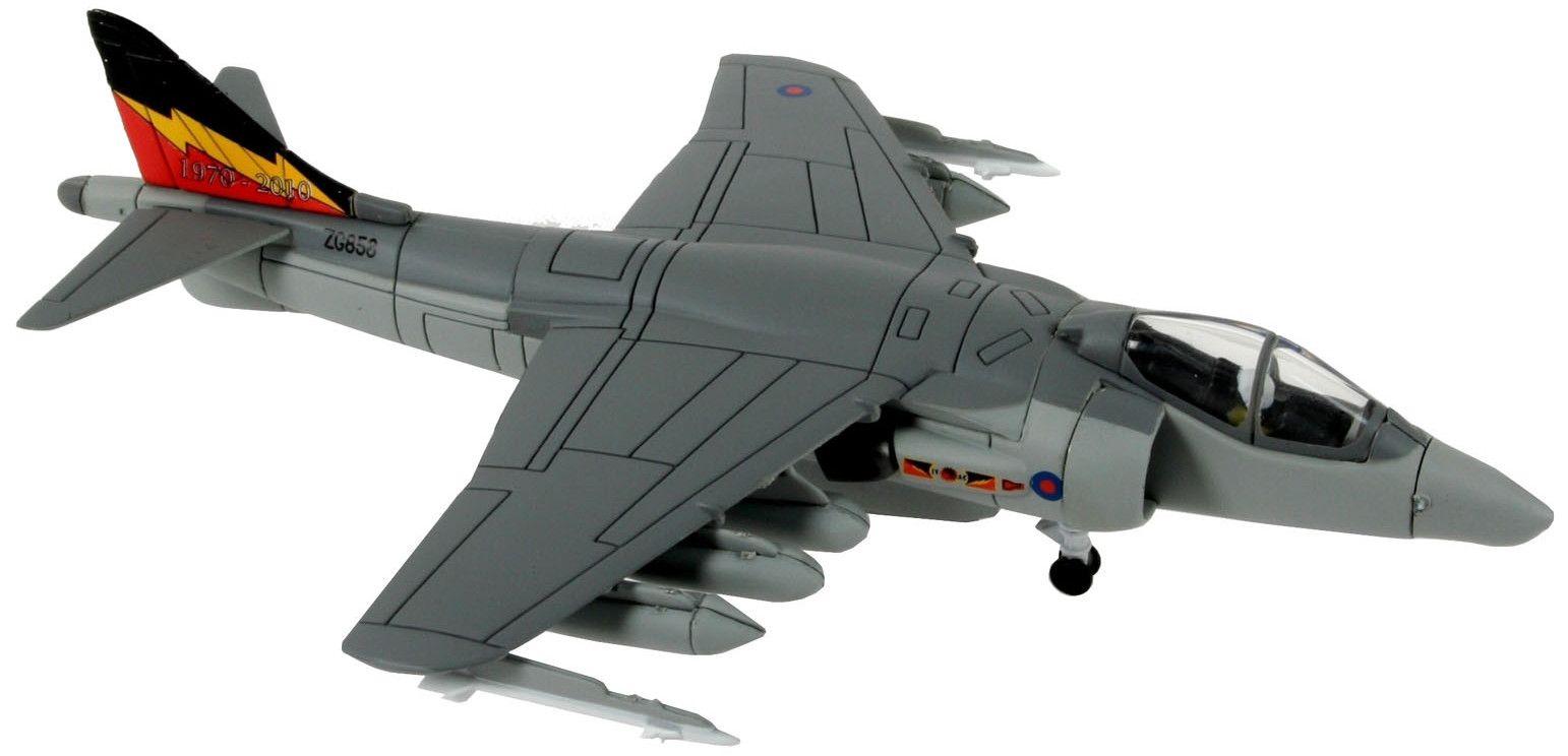 Сглобяем модел на изтребител Revell Easykit - BAE Harrier Gr.9 (06645) - 2