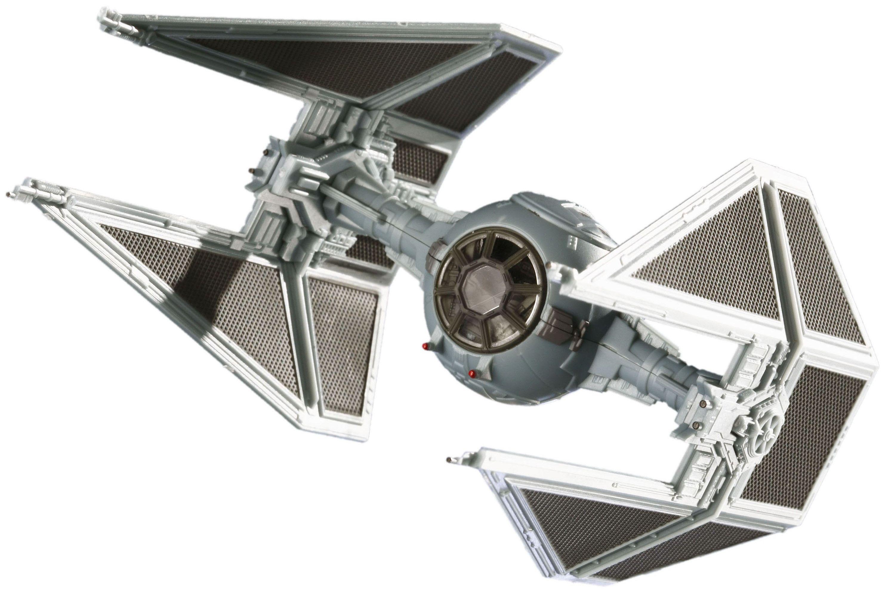 Сглобяем модел на космически кораб Revell Easykit Pocket STAR WARS - TIE Interceptor (06725) - 1