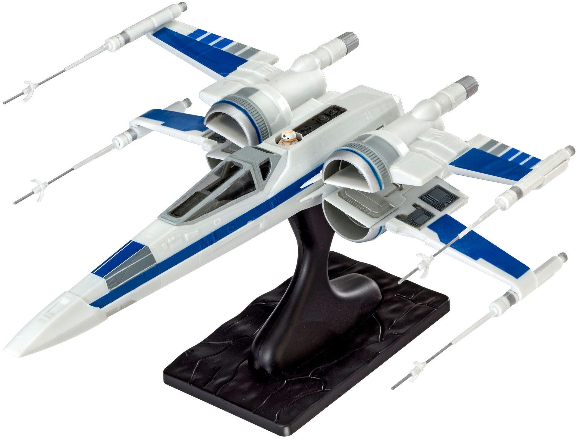 Сглобяем модел на космически кораб Revell Star Wars: Episode VII - Resistance X-Wing Fighter (06696) - 1
