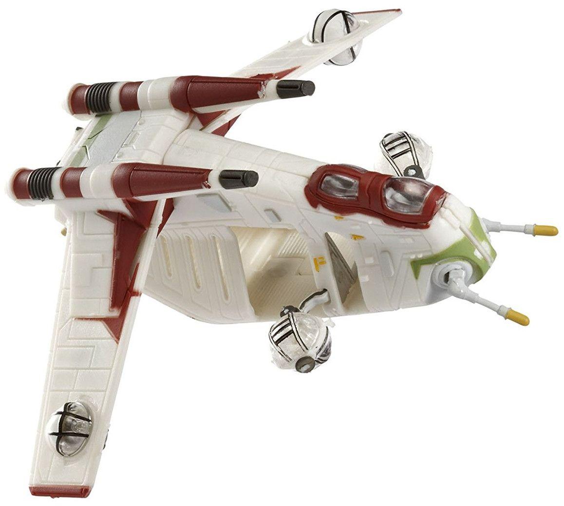 Сглобяем модел на космически кораб Revell Easykit Pocket STAR WARS - Republic Gunship (06729) - 2