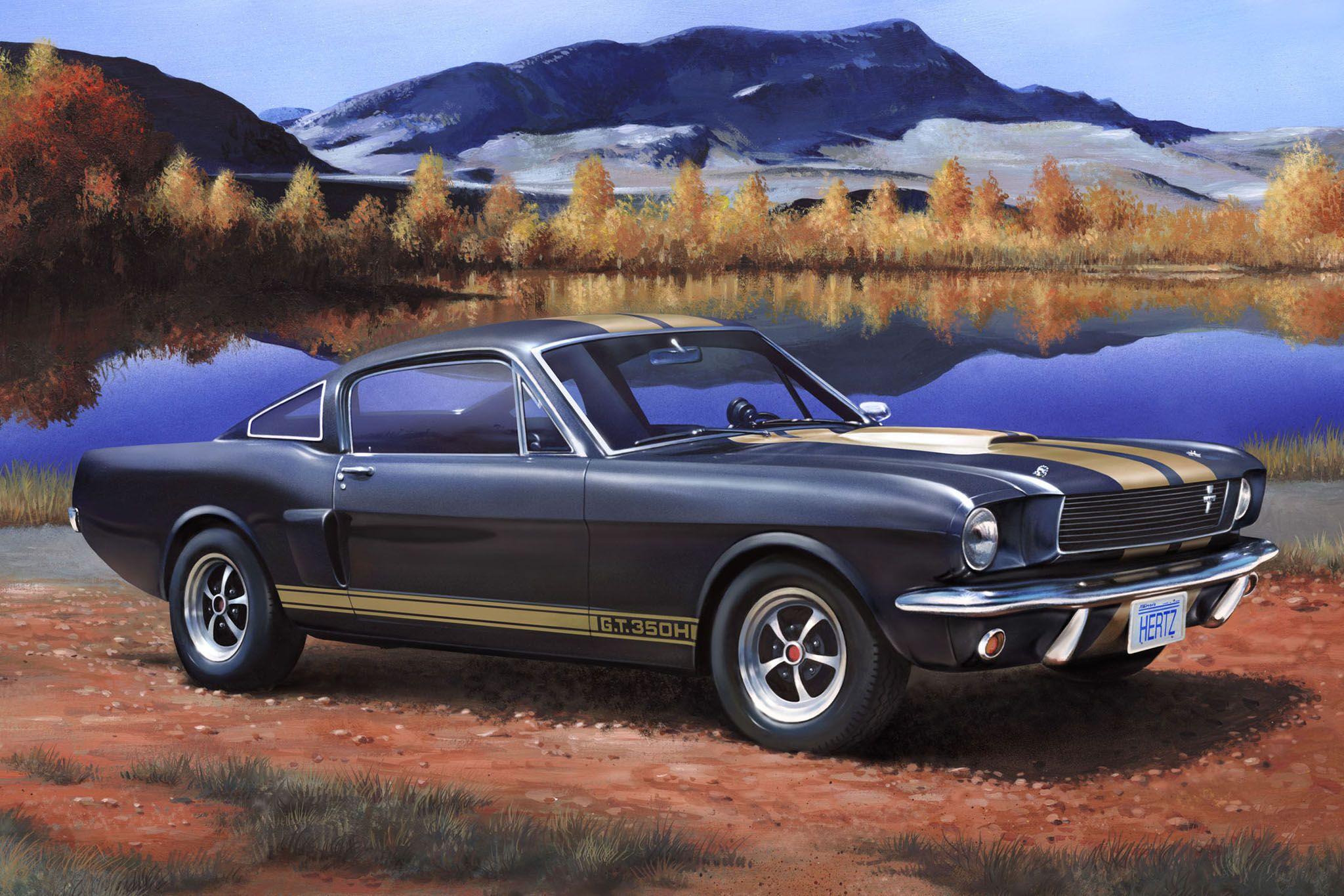 Сглобяем модел на автомобил Revell - Shelby Mustang GT 350 H (07242) - 2