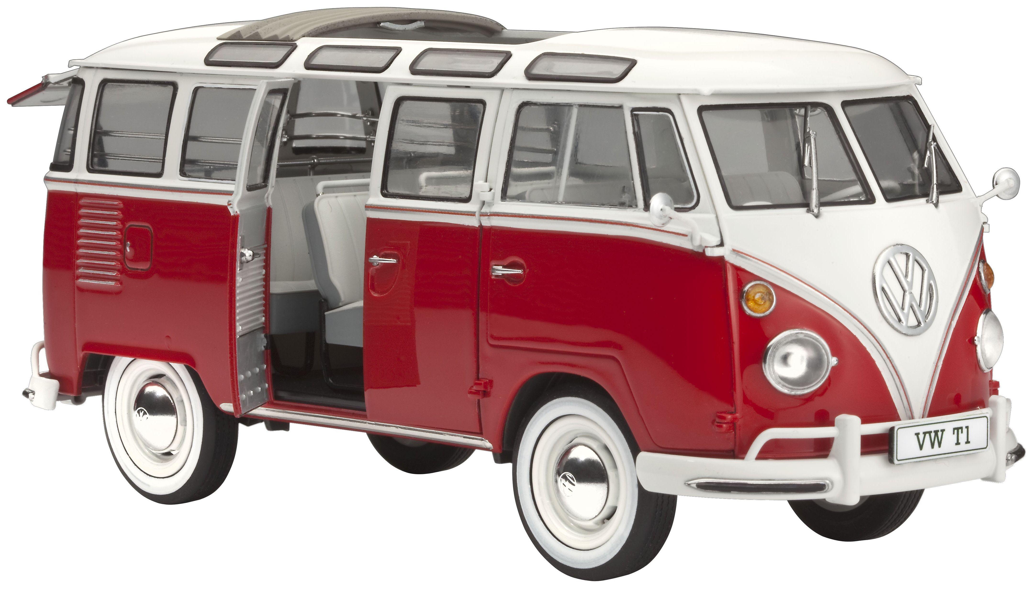 Сглобяем модел на автомобил Revell - VW T1 SAMBA BUS (07399) - 1