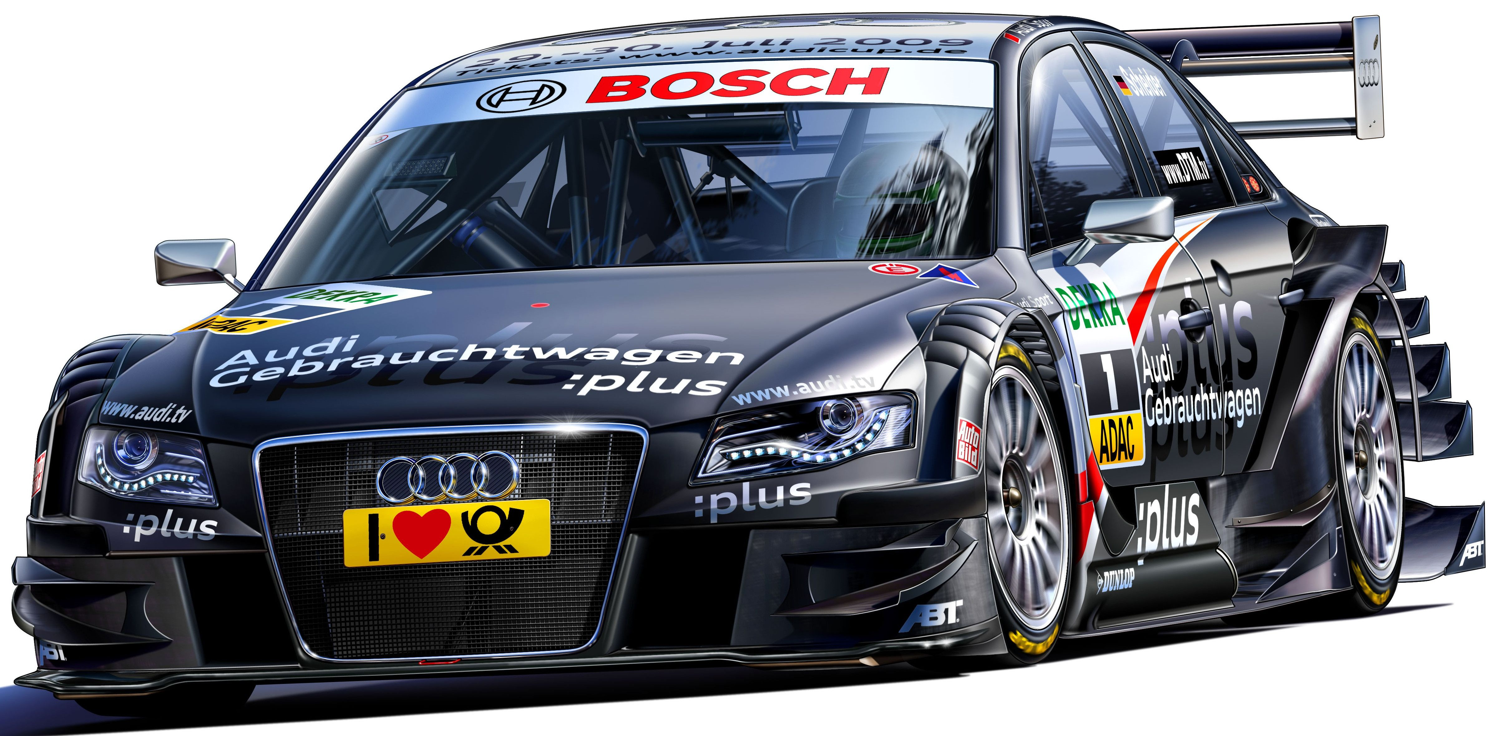 Сглобяем модел на автомобил Revell - Audi A4 2009 Timo Scheider (07176) - 1