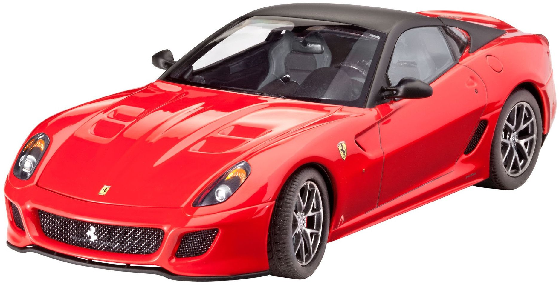 Сглобяем модел на автомобил Revell - Ferrari 599 GTO (07091) - 1