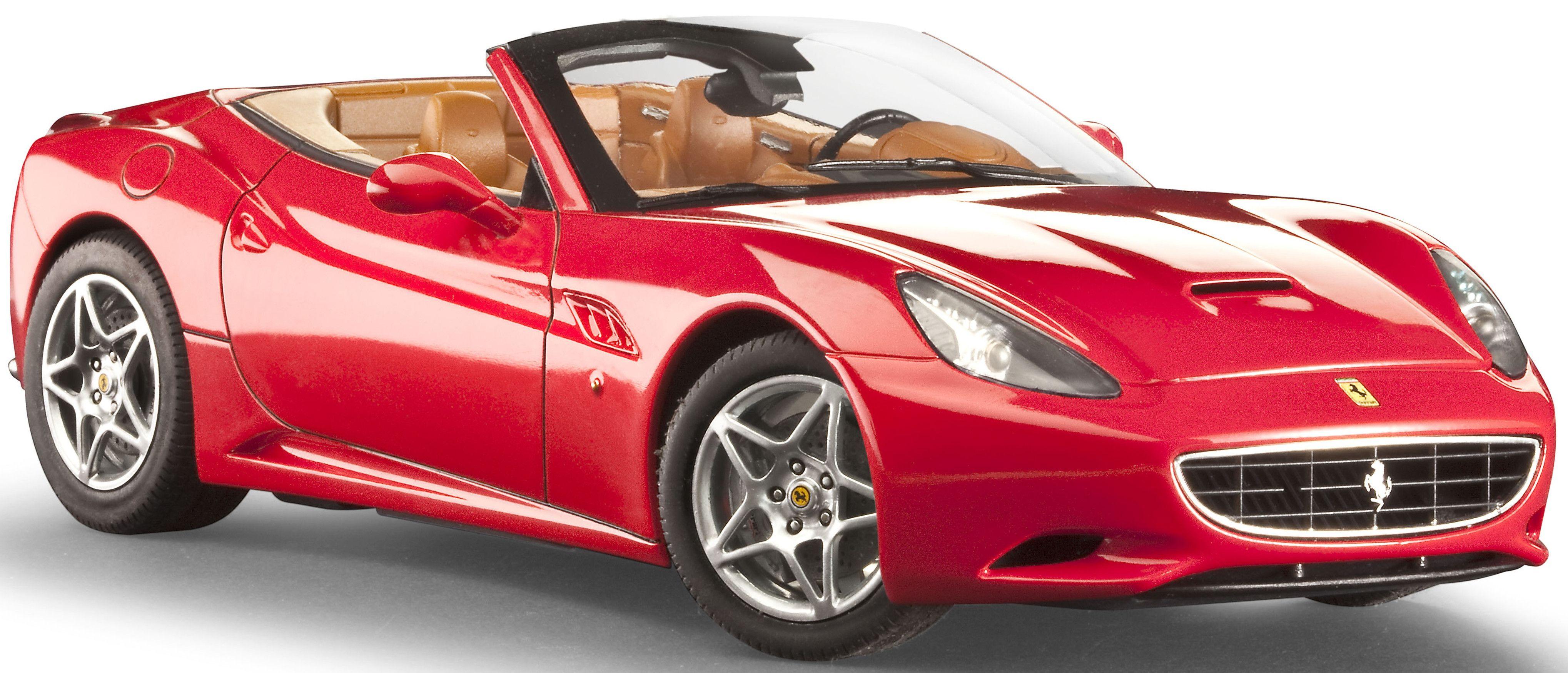 Сглобяем модел на автомобил Revell - Ferrari California (open top) (07276) - 1