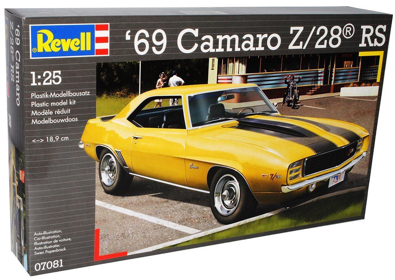 Сглобяем модел на автомобил Revell - '69 Camaro Z/28 RS (07081) - 3