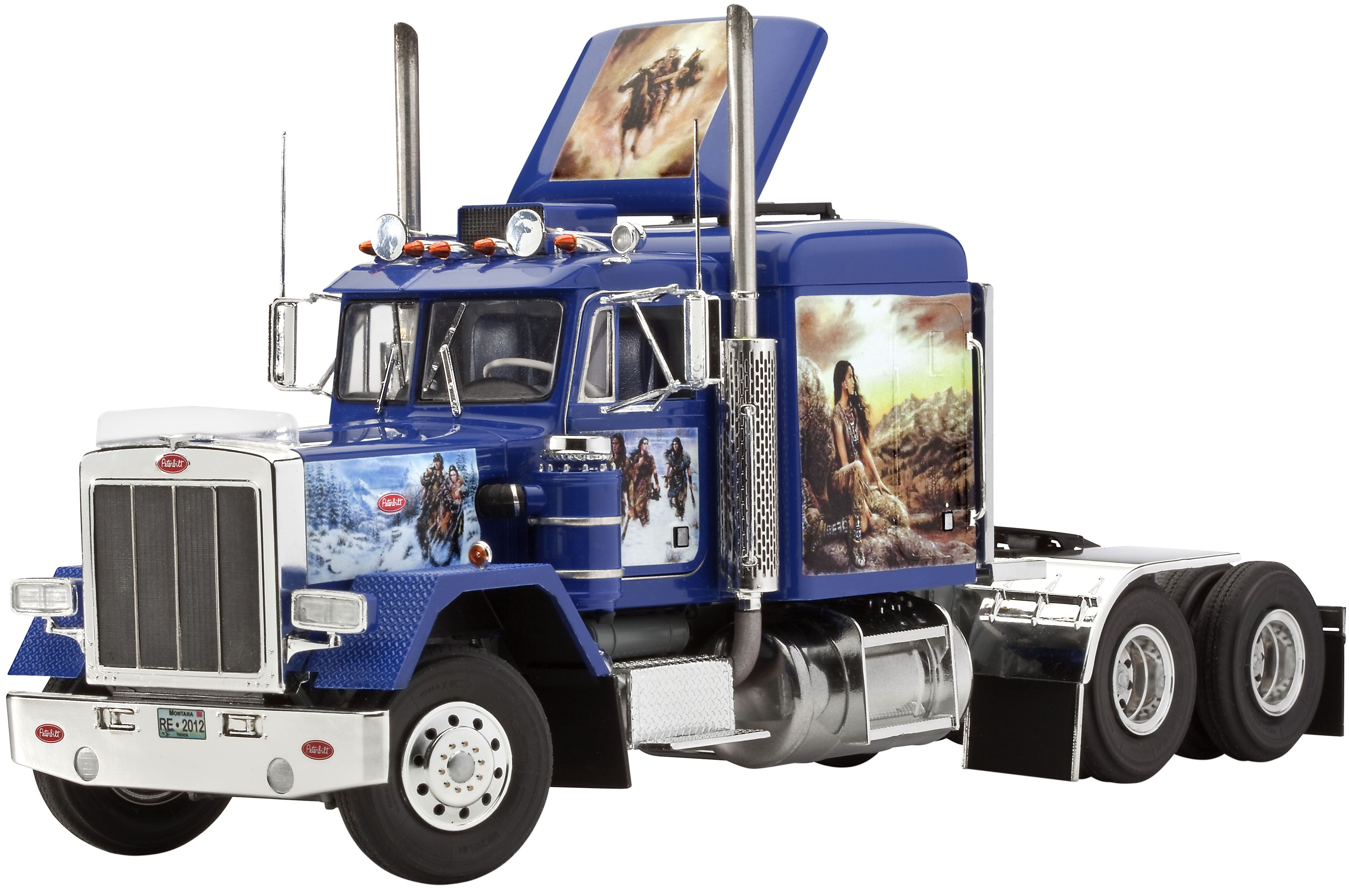 Сглобяем модел на камион Revell - Peterbilt 353 Westernlife (07464) - 1