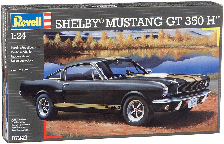 Сглобяем модел на автомобил Revell - Shelby Mustang GT 350 H (07242) - 3