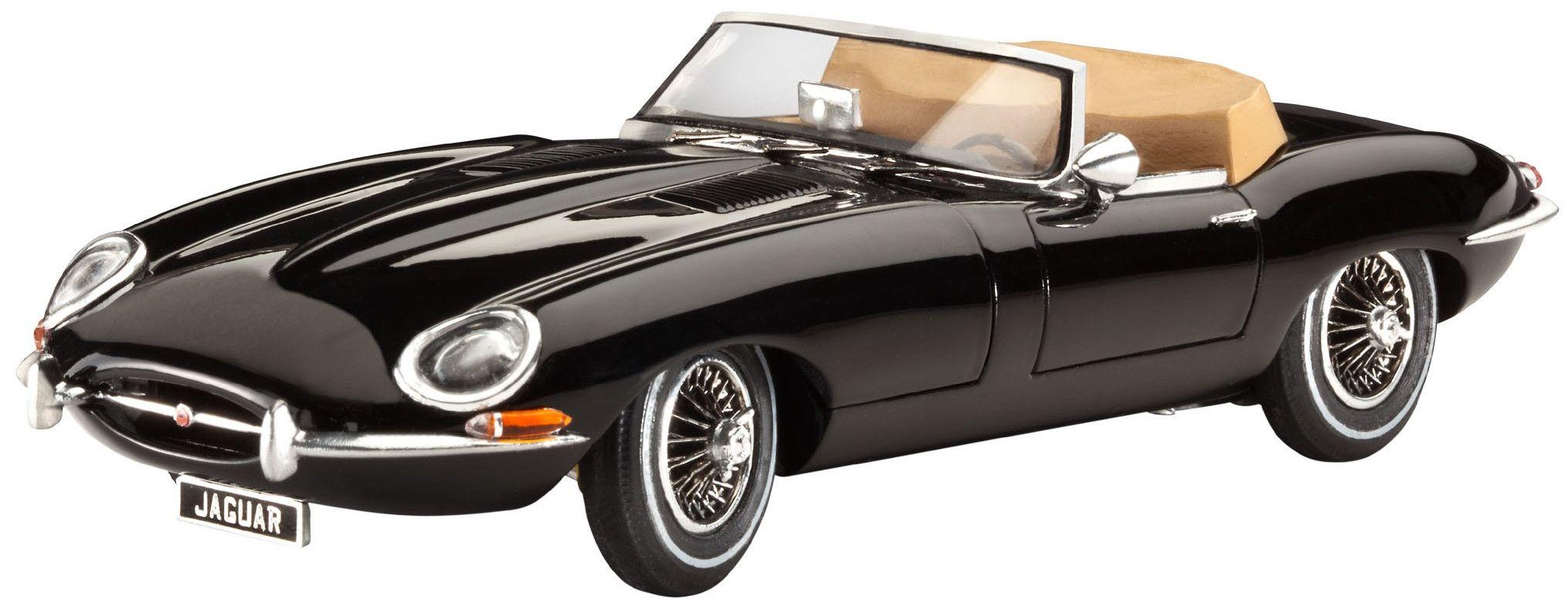 Сглобяем модел на автомобил Revell - Jaguar XK-E (07291) - 1