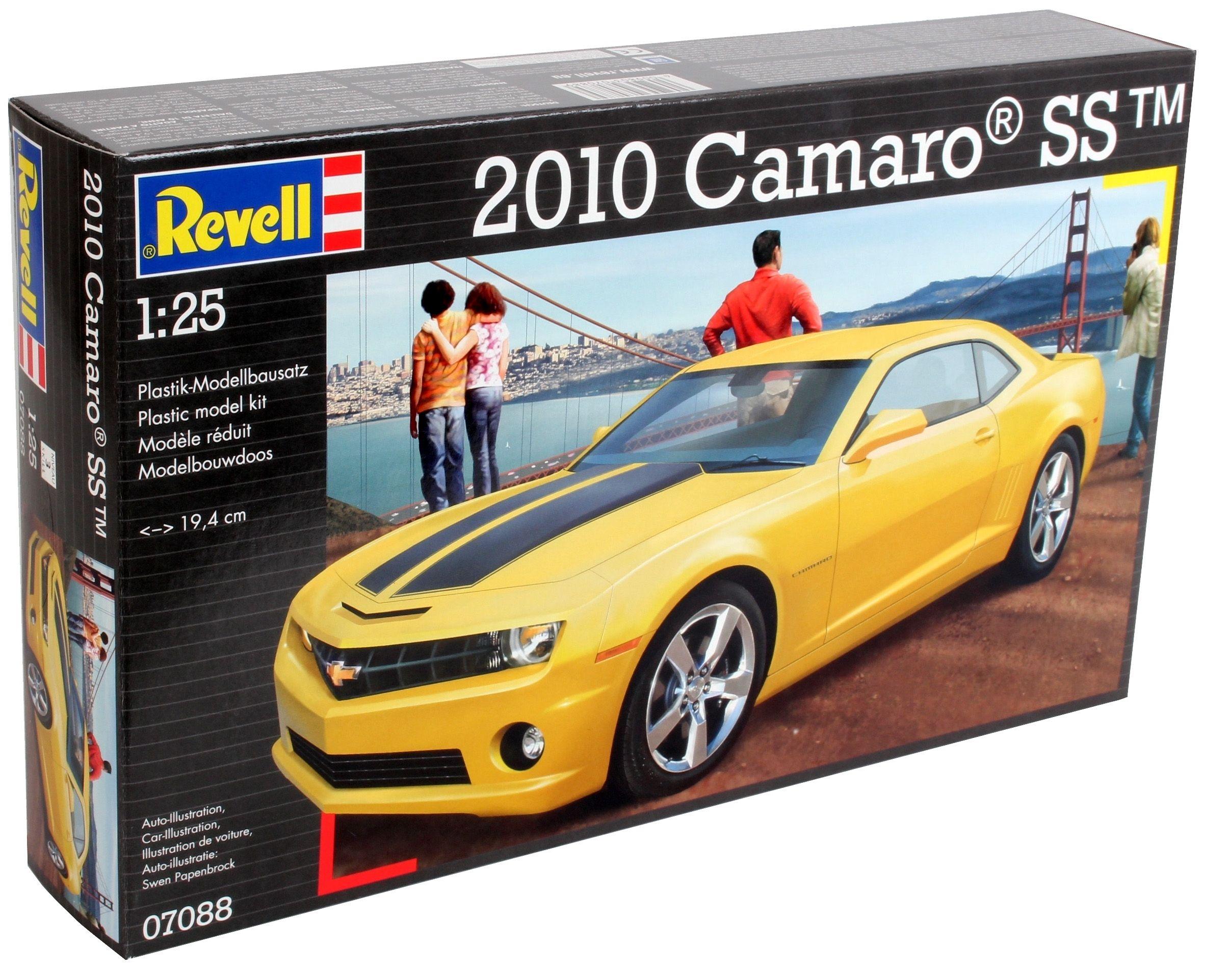 Сглобяем модел на автомобил Revell -2010 Camaro SS (07088) - 6