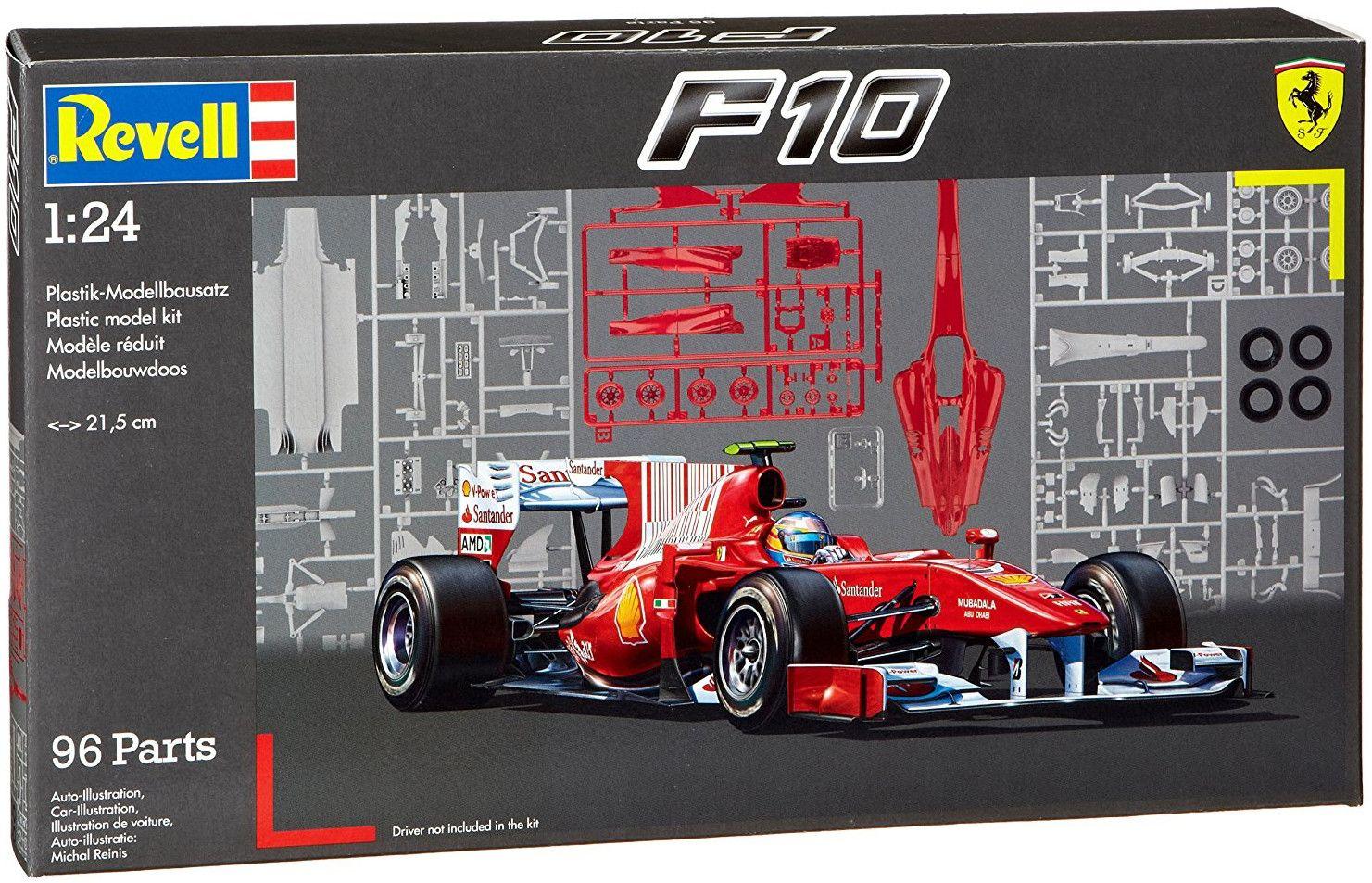 Сглобяем модел на болид Revell - Ferrari F10 (07099) - 2
