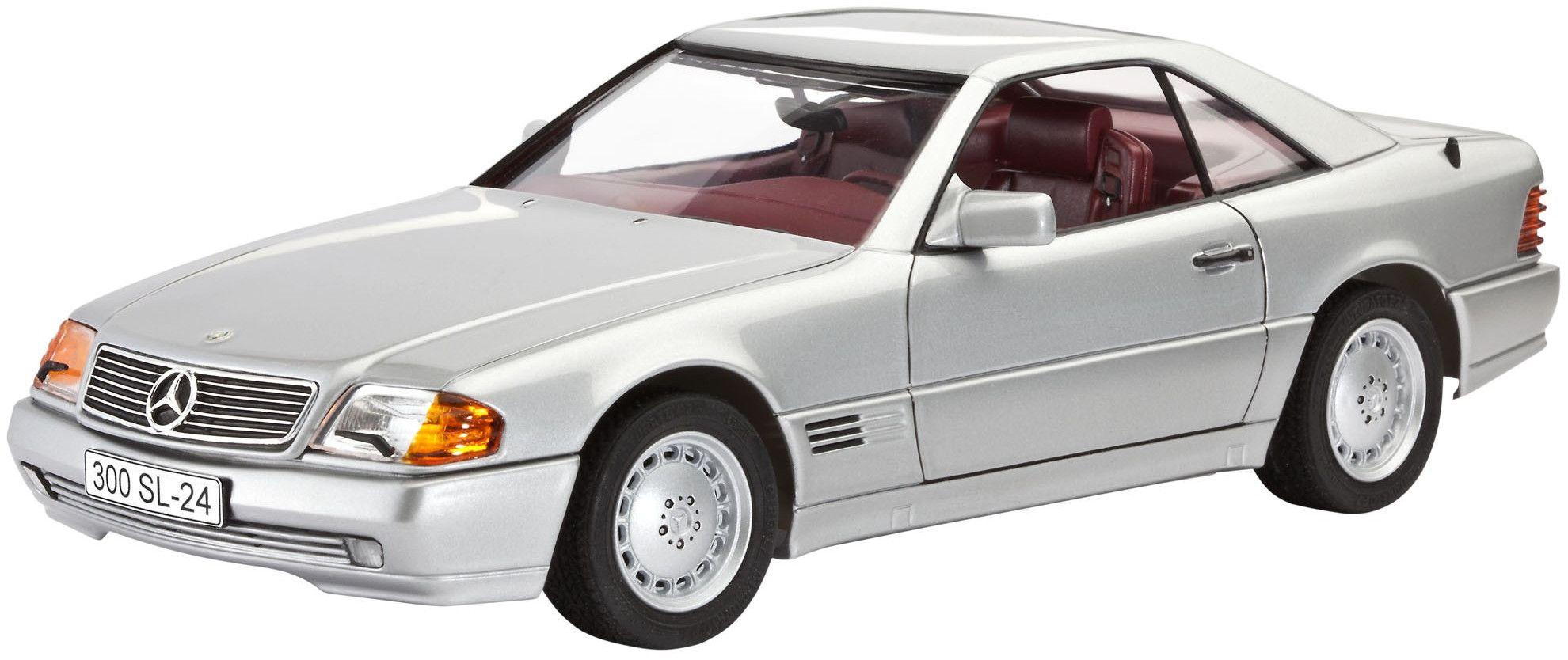 Сглобяем модел на автомобил Revell - Mercedes-Benz 300 SL-24 Coupé (07174) - 1