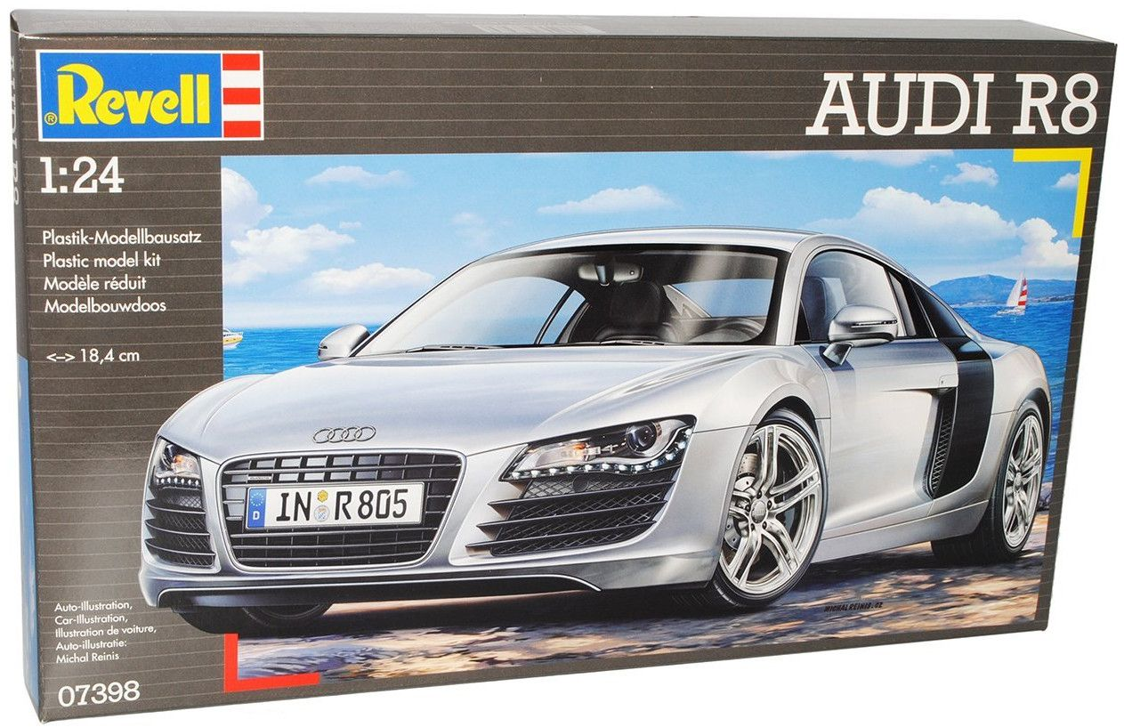 Сглобяем модел на автомобил Revell - Audi R8 (07398) - 3