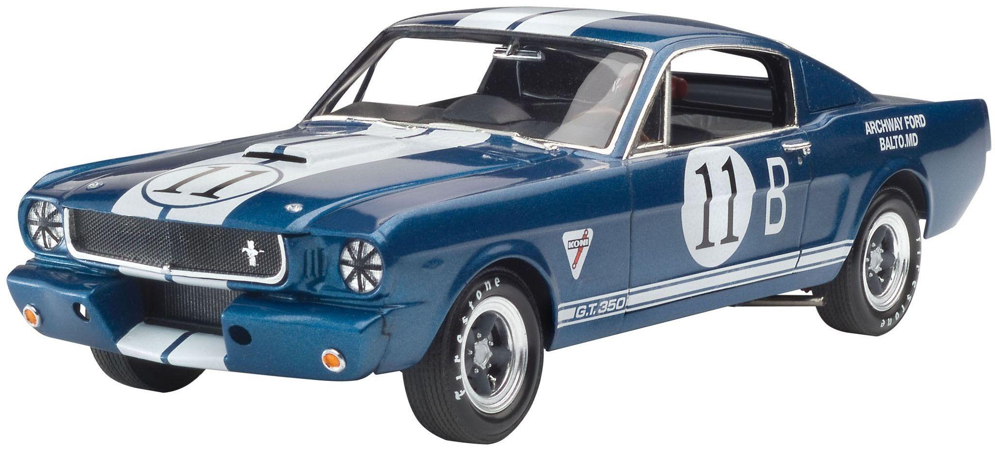 Сглобяем модел на автомобил Revell - '66 Shelby GT 350 R (07193) - 1