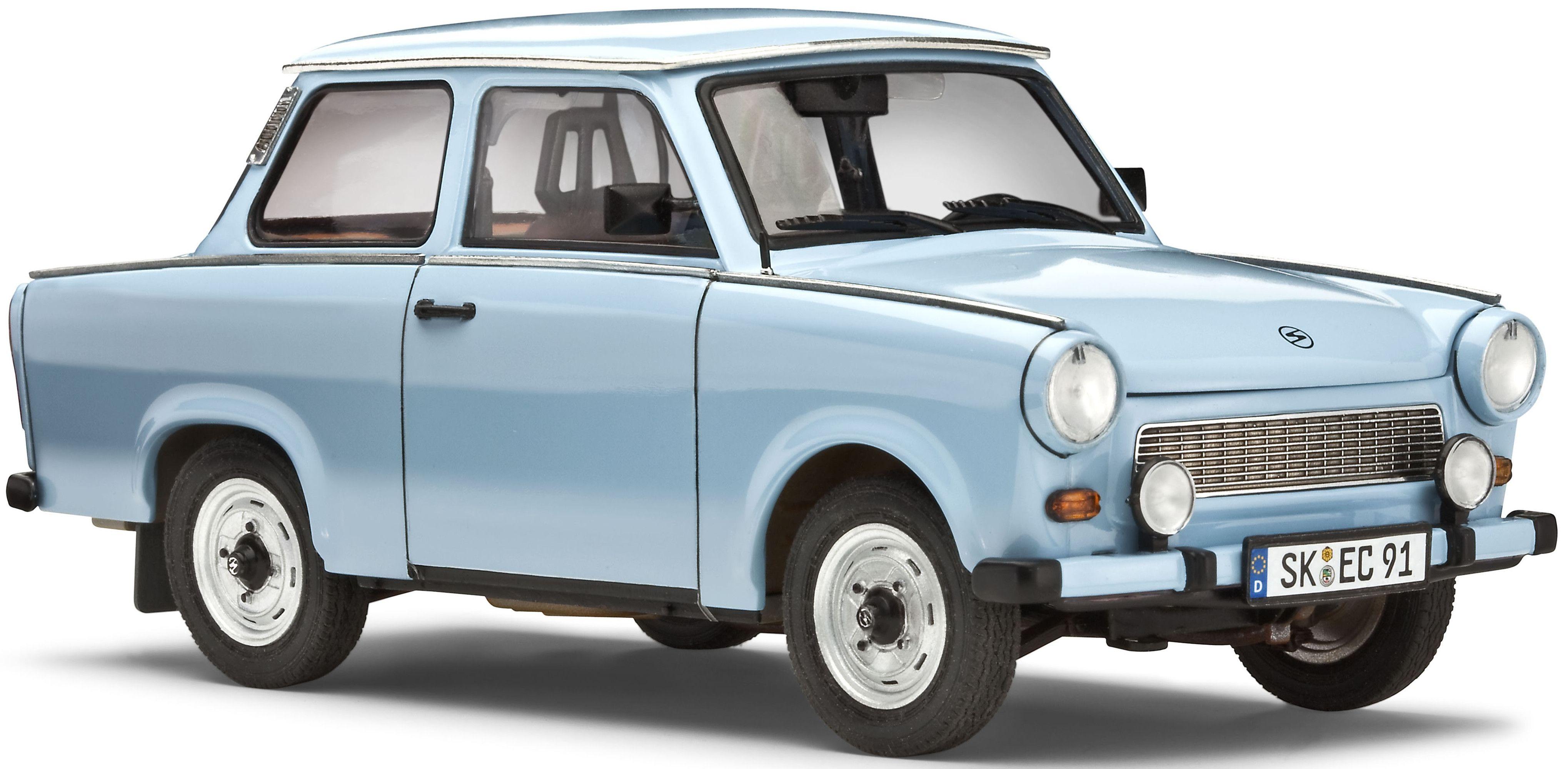 Сглобяем модел на автомобил Revell - Trabant 601 Limousine (07256) - 1