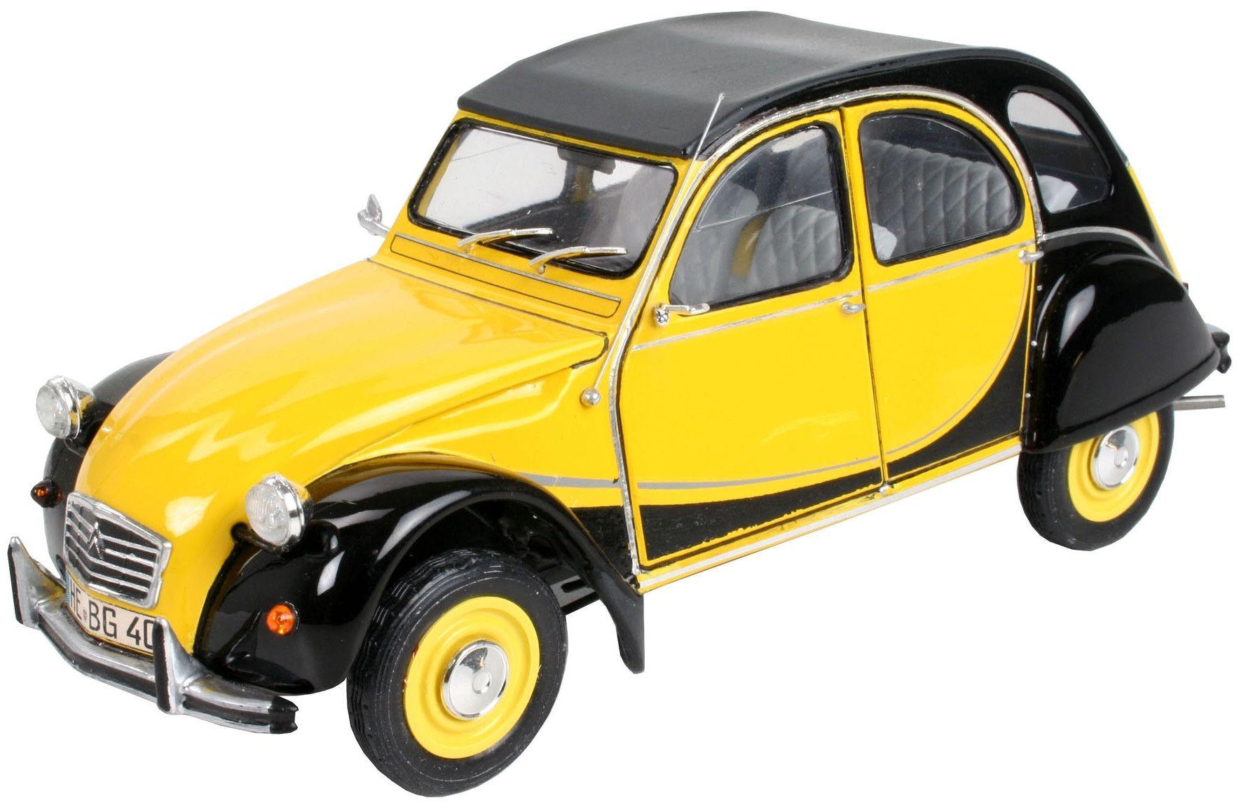 Сглобяем модел на автомобил Revell - Citroen 2CV CHARLESTON (07095) - 2