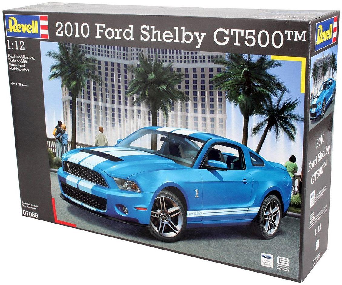 Сглобяем модел на автомобил Revell -2010 Ford Shelby GT500 (07089) - 5
