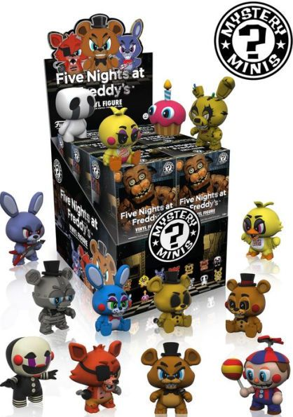 Mини Фигура Funko: Five Nights at Freddy's - Mystery Minis Blind Box - 1