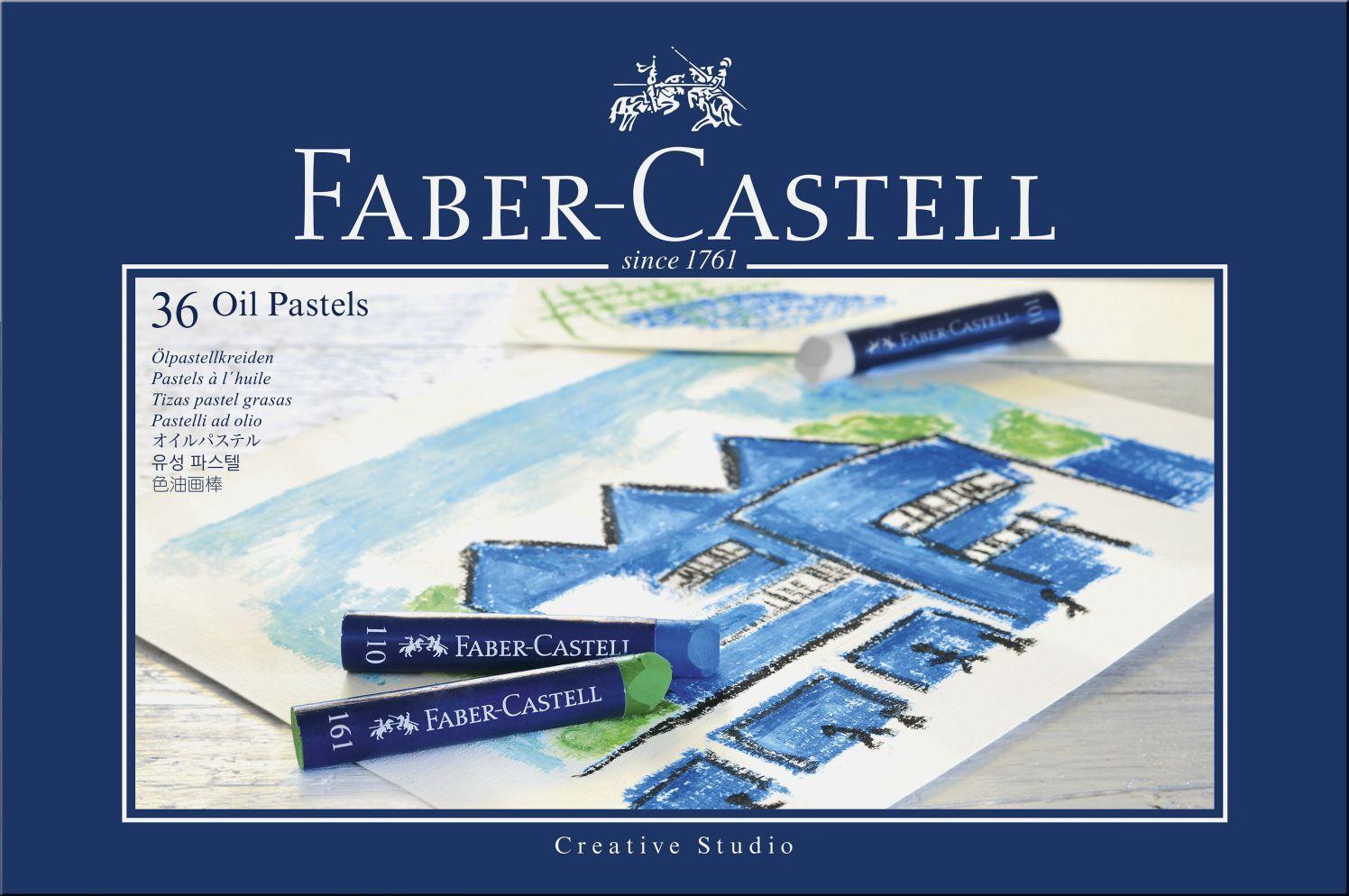Маслени пастели Faber-Castell - Creative Studio, 36 броя - 1