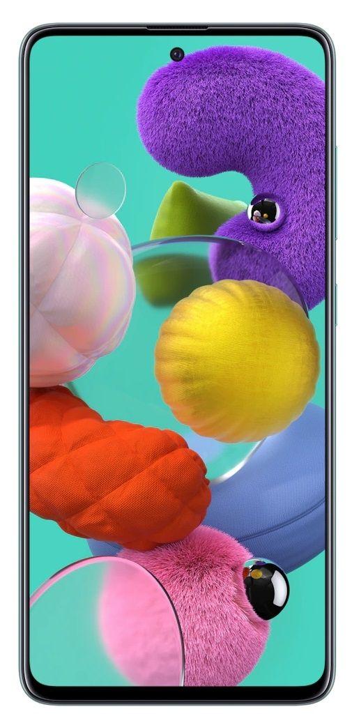 """Смартфон Samsung Galaxy A51 - 6.5"""", 128GB, син - 1"""
