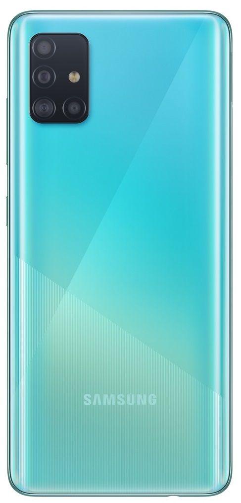 """Смартфон Samsung Galaxy A51 - 6.5"""", 128GB, син - 2"""