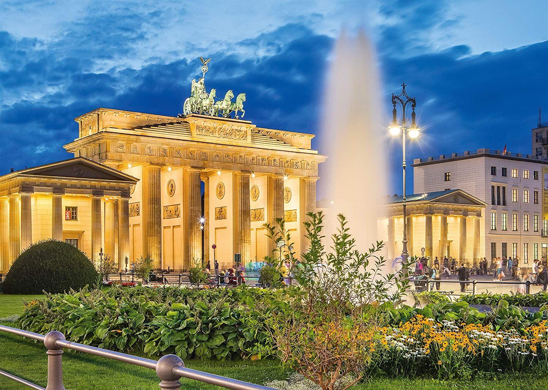 Пъзел Schmidt от 1000 части - Бранденбургската врата, Берлин - 2