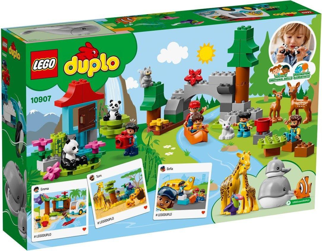 Конструктор Lego Duplo - World Animals (10907) - 3