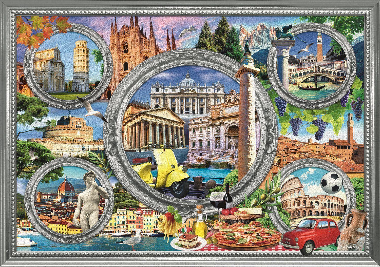 Пъзел Trefl от 1000 части - Италия - 2