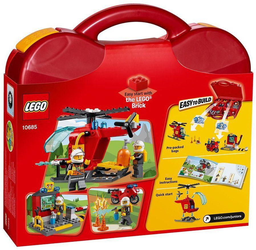 Конструктор Lego Juniors - Пожарникарски куфар (10685) - 3