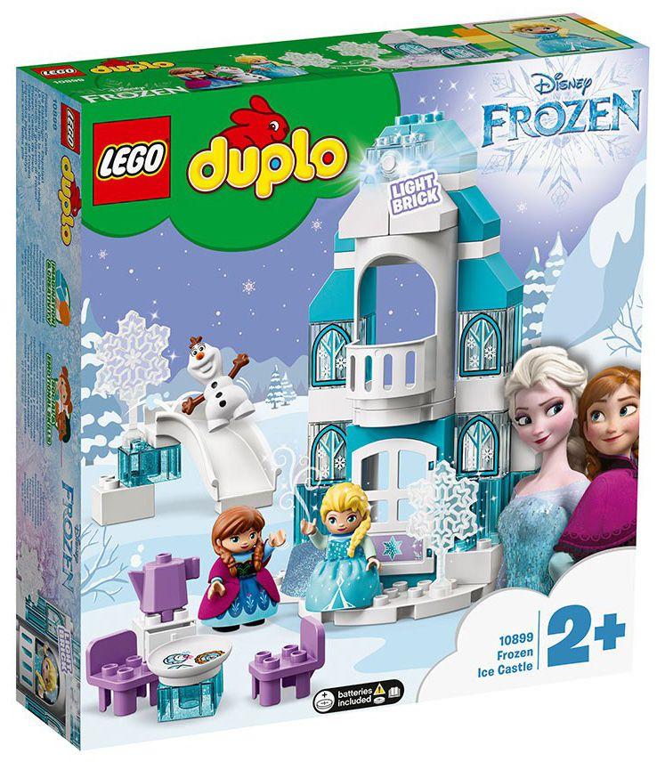 Конструктор Lego Duplo - Леденият замък на Елза (10899) - 1